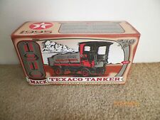 TEXACO 1910 MACK TANKER TRUCK DIECAST BANK NIB MINT ERTL #12 IN SERIES