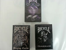 Bicycle Club Tattoo, Guardian & Dark Hearts Combo Brand New Sealed