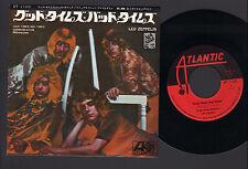 "7"" LED ZEPPELIN GOOD TIMES BAD TIMES / COMMUNICATION BREAKDOWN JAPAN 1969 PAGE"