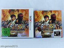 Super Street Fighter IV -- 3D Edition für Nintendo 3DS/2DS - OVP+Anl. - Sehr gut