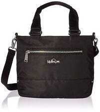 Kipling $139 NWT Womens Bags Adelina Nylon Tote Black Brightside Mix Tote 2 in 1