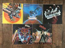 5 Judas Priest LP's collection  . Rare Russian Presses vinyl