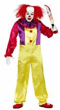 Herren es Pennywise Kostüm Cosplay Gruseliger Clown Halloween Outfit 84317