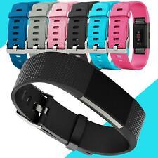 Ersatz Armband für Fitbit Charge 2 Silikon TPU Uhr Band Sport Uhrenarmband