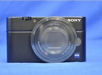 Sony DSC-RX100 RX100 Black Cyber Shot Digital Camera Language Only Japanese New
