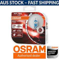 OSRAM Night Breaker Laser +150% H7 Car Headlight Bulbs x2 (FKA 'Next Gen')