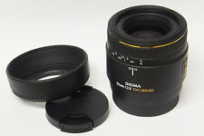 Sigma  2,8 / 50 mm EX DG Macro  Objektiv A-Mount Kameras gebraucht in ovp