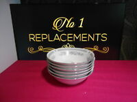 6 x British Home Stores BHS Hadleigh Cereal Bowls 6.25""