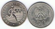 20 Zl Sondermuenze Igrzyska XXII Olimpiady 1980 MN TOP