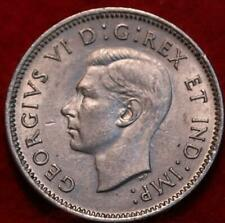 1942 Canada 5 Cents Foreign Coin
