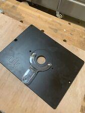 UJK 10mm Phenolic Router Table Insert Plate