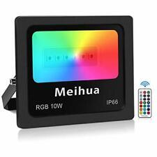 Spot led RGB 10W extérieur télecommande Meihua contrôle à 360 °, Projecteur inte