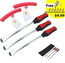 Tire Spoon Lever Iron Tool Kits For Motorcycle Bike With Wheel Rim Protector