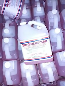 4 Gallons Glissen Nu-Foamicide Cleaner Disinfectant 4 Bottles free s/h