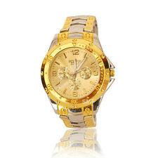 New Stylish Sober Wrist Watch for Men Silver Dial - SMROSG-1