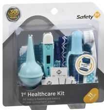New In Box Safety 1st 11 Piece Baby Healthcare Kit, Arctic Blue