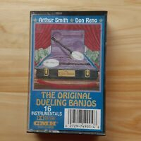 Original Dueling Banjos Cassette Tape Arthur Smith Don Reno