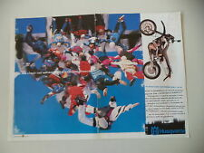 advertising Pubblicità 1999 MOTO HUSQVARNA SM SUPERMOTARD 610