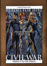 2006 Heroes For Hire #1 NM- Second Print Variant Civil War Palmiotti Tucci