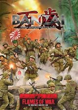 Flames of War: Pacific: Banzai Softcover (FW307) NEW