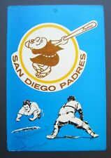 1973 San Diego Padres Fleer Baseball Big Sign MLB