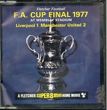 FA CUP FINAL 1977 LIVERPOOL 1 MANCHESTER UNITED 2  FLETCHER SUPER 8mm HOME MOVIE