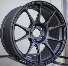 17x9 Rota TITAN 5x114.3 +42 Flat Black Wheel (1)