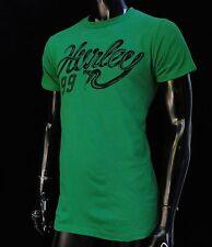 Hurley Surfing Classic Green Snake Logo Mens T shirt size Medium HRL-62