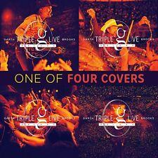 Garth Brooks Triple Live Deluxe CD Garth Brooks NEW FREE SHIPPING PRE ORDER