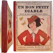 Un bon petit diable 1932 comtesse Sophie de Ségur images Franc-Nohain Mame