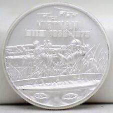 Heroes Vietnam War Is Hell 1 Oz 999 Silver Round Medal - ounce Veterans - JB429