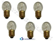 More details for henny penny chicken display clear light bulb high temp silicone coated ptfe x 6