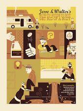 Breaking Bad Dave Perillo Emillios Disposal art poster Print better call saul