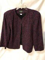 Orvis Womens Tweed Blazer Size 20