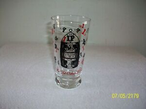 Vintage 1951 Indiana Purdue University Old Oaken Bucket Commemorative Glass