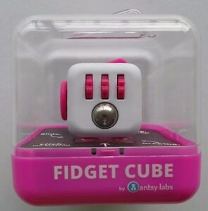 NEW Antsy Labs Authentic Fidget Cube Berry Edition Kickstarter Pink