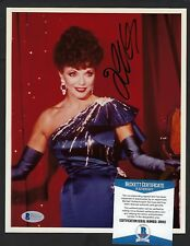 """Joan Collins signed 8""""x 10"""" photograph BAS Authenticated Dynasty Golden Globe"""