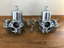 Daimler 250 V8 twin carburettors fully reconditioned by BURLEN