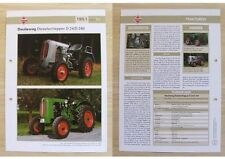 DEULIEWAG Traktor Schlepper D 24 / D 240 1951 Weltbild