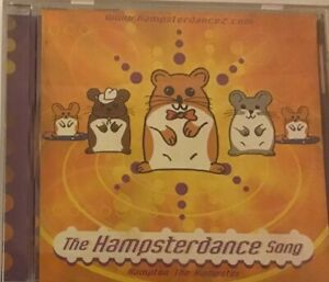 THE HAMPSTERDANCE SONG CDsingle, Free Priority Post!