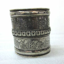 Wide Cuff Bracelet Free Size Vintage Statement Fashion Jewelry Boho Gypsy Hippie