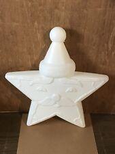 Rare Vintage Santa Star Plastic Blowmold Blow Mold Christmas Union Products