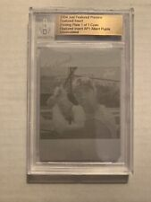 Albert Pujols 2004 Just Featured Preview Cyan Printing Plate 1/1 Rookie RC BGS