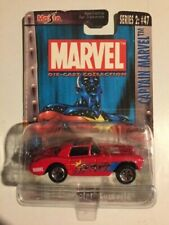 "2003 Maisto~Marvel~""Captain Marvel"" #47, Series #2~'57 Chevy Corvette,New!,HTF!"