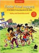 FIDDLE TIME JOGGERS with CD. Sheet music book