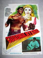 QUADRILATERAL Original BOXING Movie Poster JOSE LEGRA ROSANNA YANNI GERARD TICHY