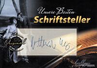 """Alexander Kluge """"Unsere Besten Schriftsteller"""" original signiert/signed !!!"""