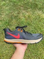 NEW Nike Air Zoom Wildhorse 5 Smoke Grey Trail Running AQ2222-002 Men's Size 11