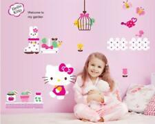 Wandtattoo Wandsticker Wandaufkleber Hello Kitty Motive Mädchen 95 x 155 W182