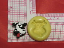 Cow Silicone Push Mold A52 For Fondant Resin Clay Cake Pop Chocolate